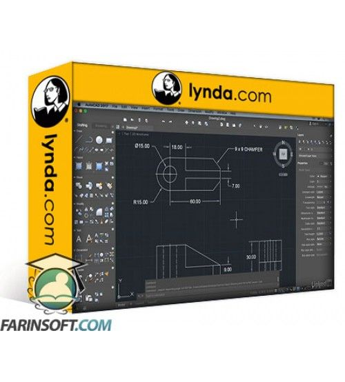 آموزش Lynda AutoCAD for Mac 2017 New Features