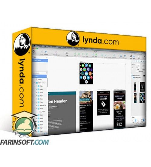 آموزش Lynda Learn Axure RP: Beyond the Basics