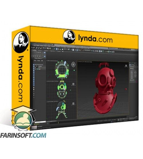 آموزش Lynda 3ds Max: Hard Surface Modeling Basics