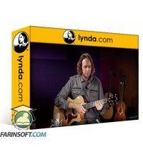 آموزش Lynda Intermediate Acoustic Guitar