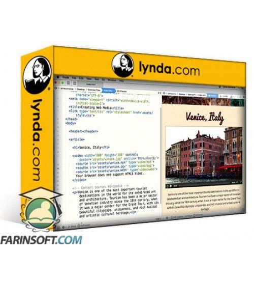 آموزش Lynda Creating Web Media