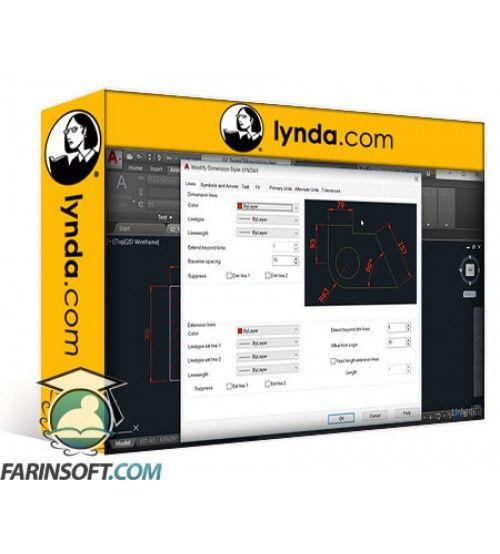 آموزش Lynda AutoCAD: Effective Annotating