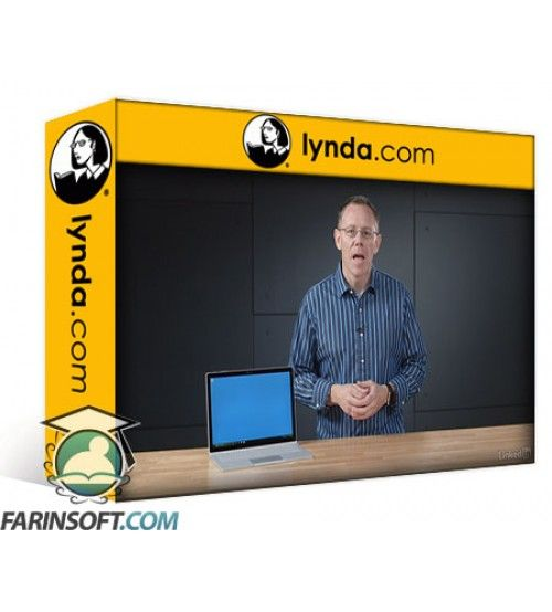 آموزش Lynda Learn Microsoft Surface Book and Other 2-in-1 Laptops 2017