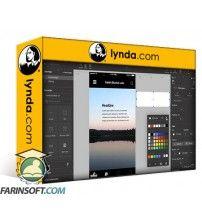 دانلود آموزش Lynda UX Design Tools: UXPin