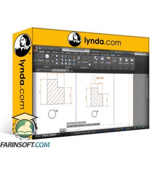 آموزش Lynda AutoCAD: Annotation Scaling in Drawings