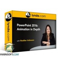 دانلود آموزش Lynda PowerPoint 2016: Animation in Depth