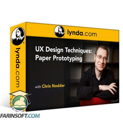 آموزش Lynda UX Design Techniques: Paper Prototyping