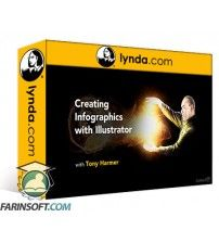 دانلود آموزش Lynda Creating Infographics with Illustrator