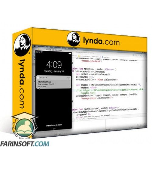 آموزش Lynda Learning iOS Notifications