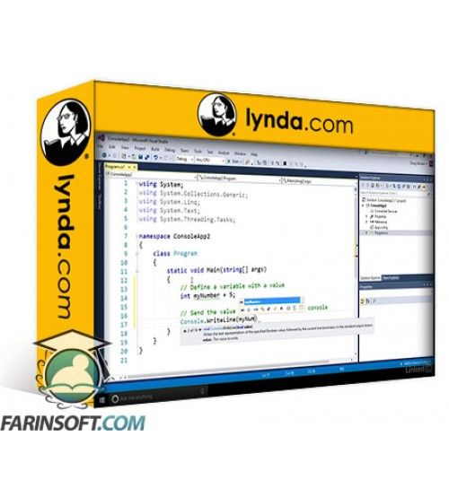 آموزش Lynda Computer Science Principles Lab: C#