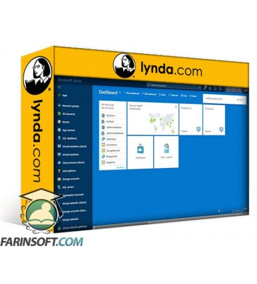 آموزش Lynda Microsoft Azure: Design and Implement a Storage Strategy