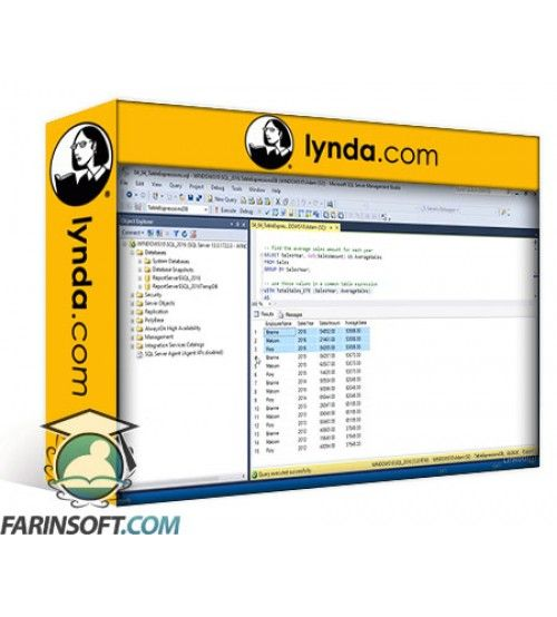 آموزش Lynda Designing Database Solutions for SQL Server 2016
