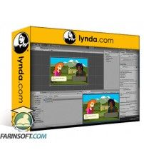 دانلود آموزش Lynda Unity 5: Build a Character Dialogue System