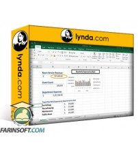آموزش Lynda Creating a Basic Dashboard in Excel 2016