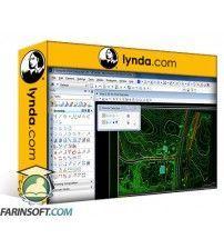 دانلود آموزش Lynda MicroStation: Plotting in V8i