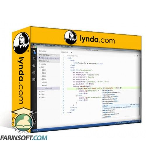 آموزش Lynda Processing and Interchanging JSON Data