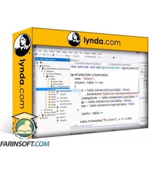 آموزش Lynda Learning Entity Framework Core