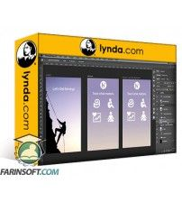 آموزش Lynda Photoshop for UX Design