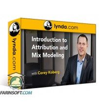 آموزش Lynda Introduction to Attribution and Mix Modeling
