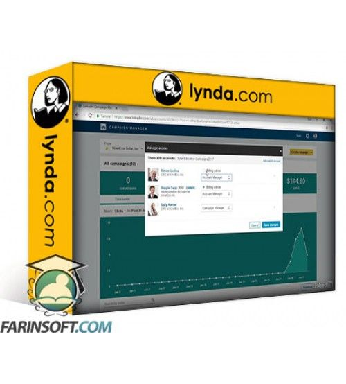 آموزش Lynda Advertising on LinkedIn
