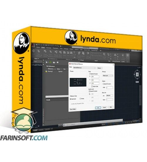 آموزش Lynda AutoCAD 2018 New Features