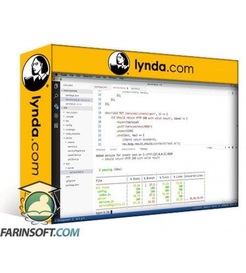 آموزش Lynda Architecting Enterprise-Scale Node.js Applications
