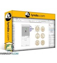 دانلود آموزش Lynda Drawing Vector Graphics: Iconography