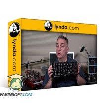 آموزش Lynda Learning Modular Synthesis: Moog Mother-32 Semimodular Synth