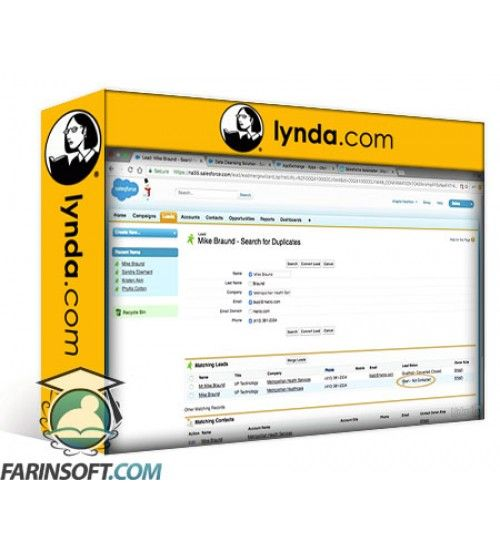 آموزش Lynda Salesforce Workflows: Leads