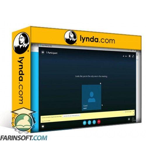 آموزش Lynda Skype for Business Essential Training