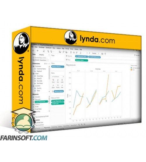 آموزش Lynda Integrating Tableau and R for Data Science