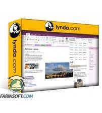 آموزش Lynda OneNote Advanced Tips and Tricks