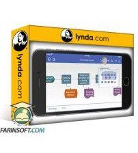 آموزش Lynda Visio on Mobile and Visio Online: First Look