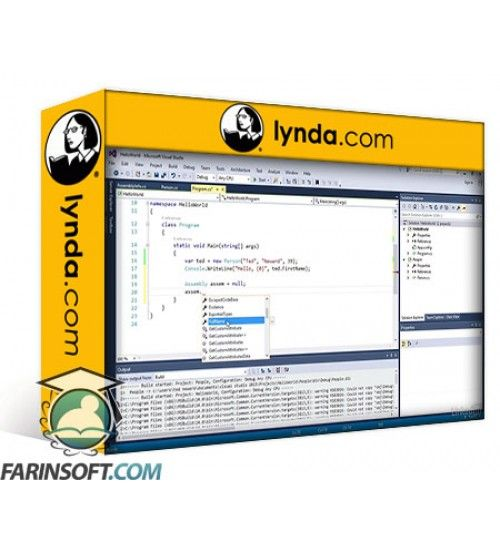 آموزش Lynda CLR Assemblies Deployment for .NET Developers