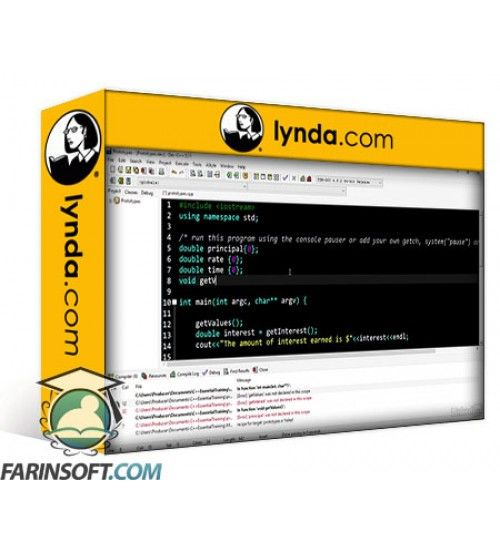 آموزش Lynda C++ Essential Training for Career Changers