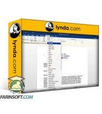 آموزش Lynda Mail Merge in Depth with Word for Mac 2016