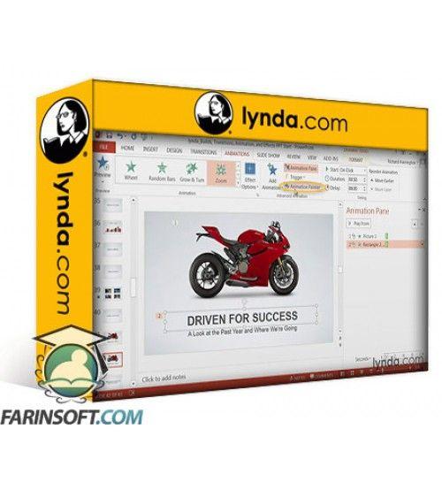 آموزش Lynda PowerPoint: Builds Transitions Animations and Effects