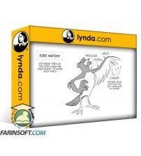 آموزش Lynda 2D Animation: Animate Flying Creatures