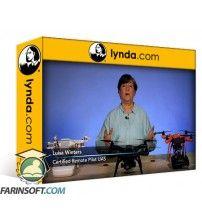 دانلود آموزش Lynda Cert Prep: FAA Part 107 Commercial Drone License