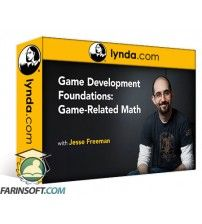 آموزش Lynda Game Development Foundations: Game-Related Math