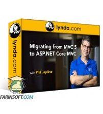 آموزش Lynda Migrating from MVC 5 to ASP.NET Core MVC