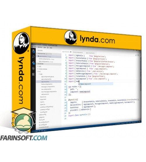 آموزش Lynda Building a Full-Stack Application with Angular 2 ASP.NET Core and Authentication