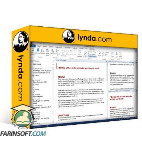 دانلود آموزش Lynda Cert Prep: Word 2013 Microsoft Office Expert Part Two (77-426)