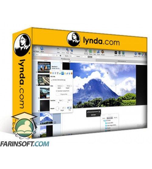 آموزش Lynda Creating a Photo Book with iBooks Author