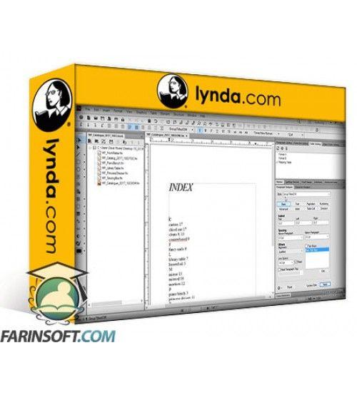 آموزش Lynda FrameMaker 2017 Essential Training