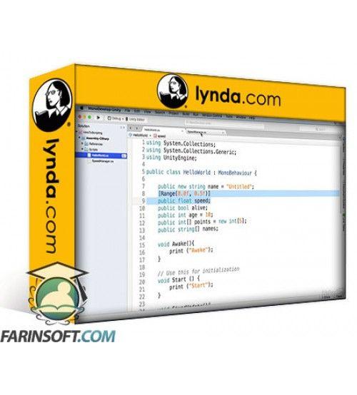 آموزش Lynda Learning Unity 2D Scripting