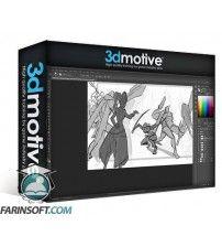 آموزش 3D Motive 2D Action Shot Composition