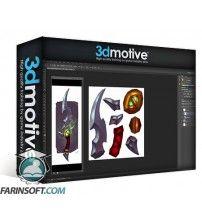 آموزش 3D Motive Hand Painted Dagger