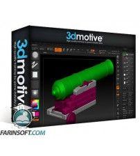 آموزش 3D Motive Cannon Texturing in Substance