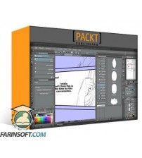 آموزش PacktPub Clip Studio Paint EX - Creating and Exporting Pages